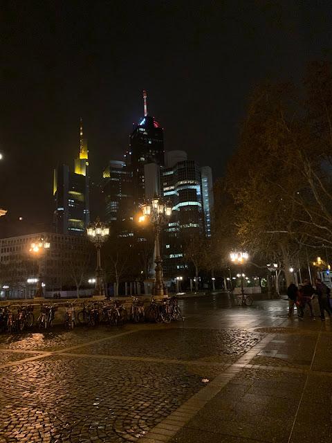 Tall buildings in Frankfurt