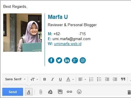 Dear Blogger, Sudahkah Emailmu Bersignature?