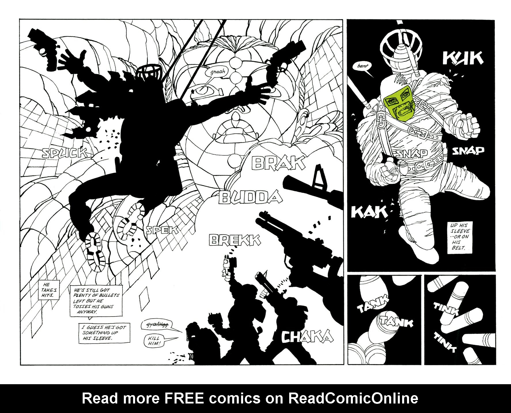 Read online Frank Miller's Holy Terror comic -  Issue # TPB - 110