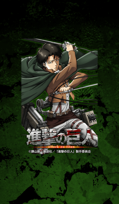 Attack on Titan Levi ver.