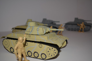 A Panzer III at 1/32 scale