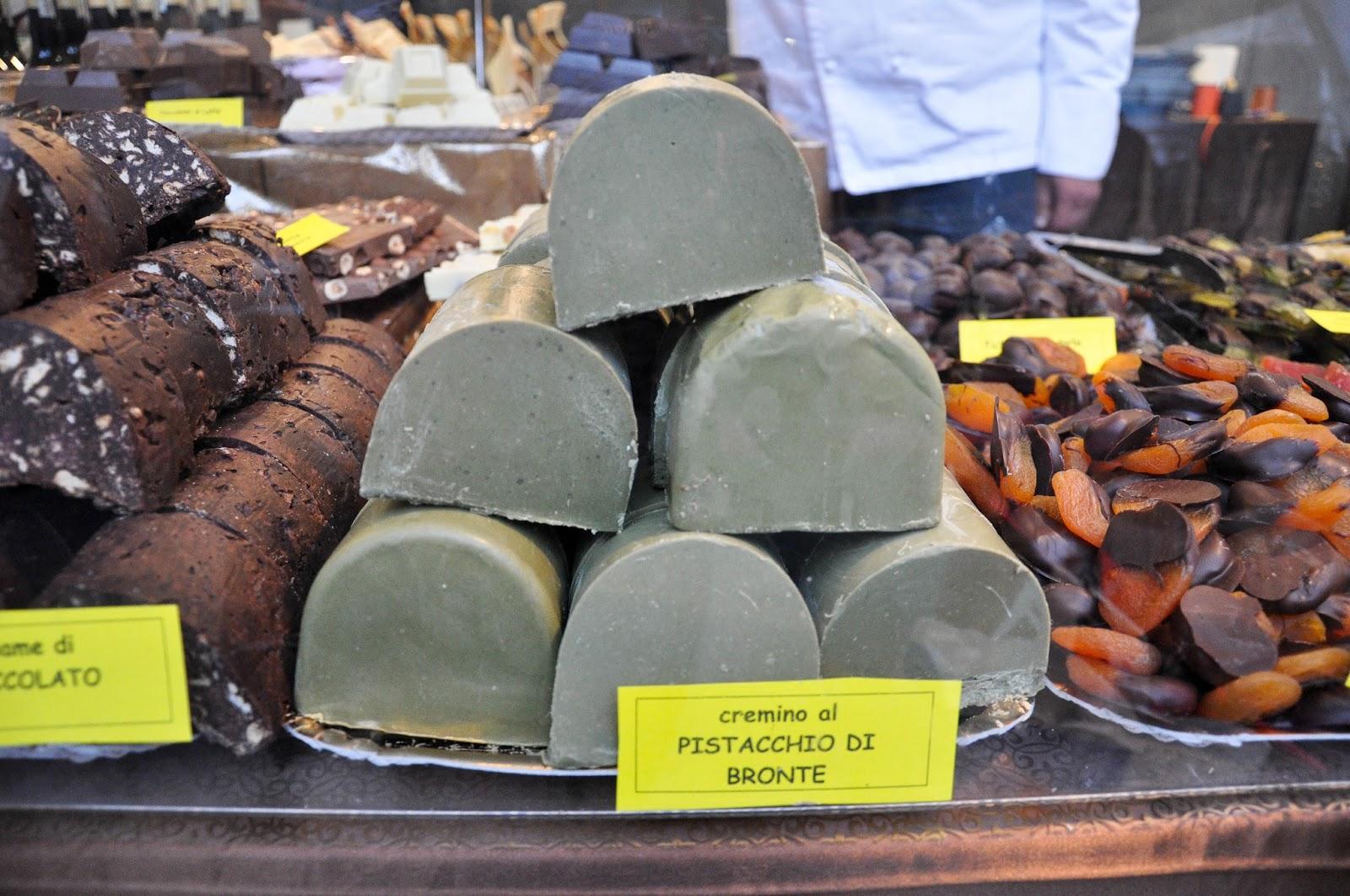 Cremino al Pistacchio, Chocolate Festival, Piazza dei Signori, Vicenza, Veneto, Italy