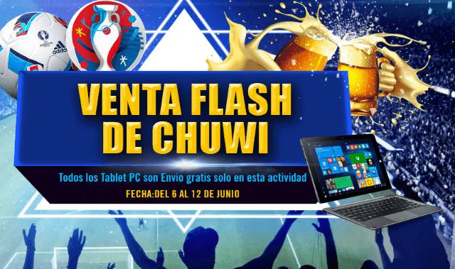 ¡Chuwi está de Rebajas, tablets Full HD desde 77 euros!