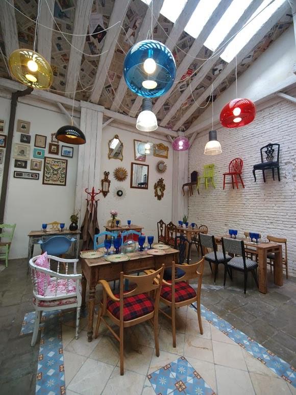 Comemos en Ric27? un restaurante vintage ecléctico en Zaragoza ...