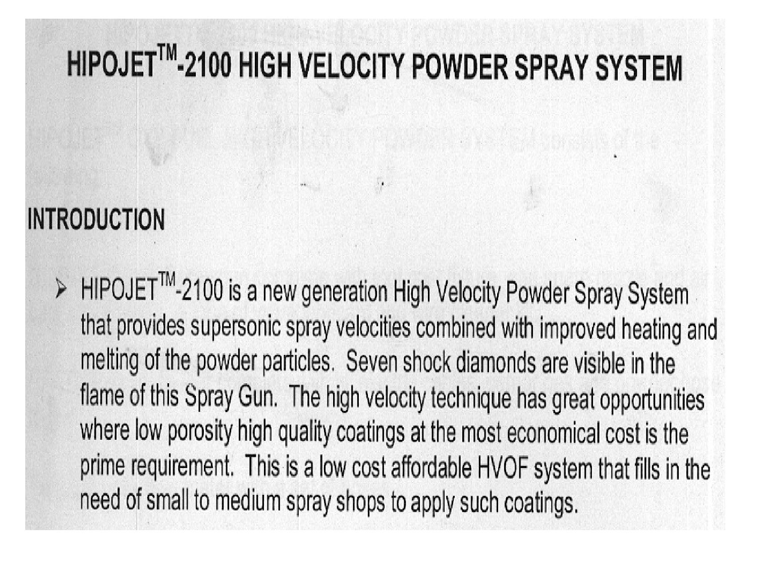HVOF Coating for Boiler Pressure Parts and Other Application (PPT ...