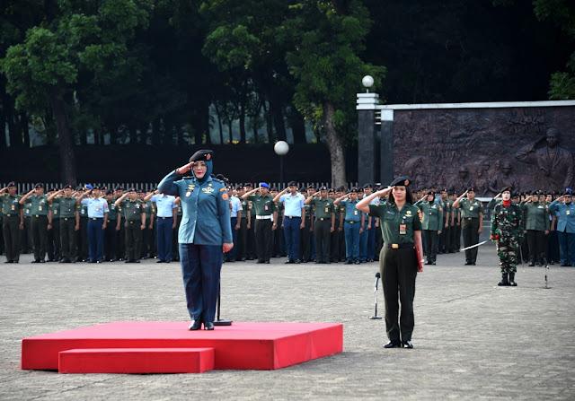 Mabes TNI Gelar Upacara Peringatan Hari Ibu ke-90