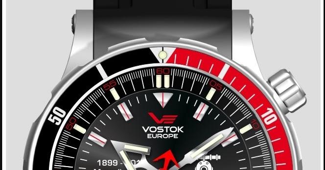 8ca8d800ea9 Estação Cronográfica  Chegado ao mercado - relógios Vostok Europe  Mergulhadores da Armada