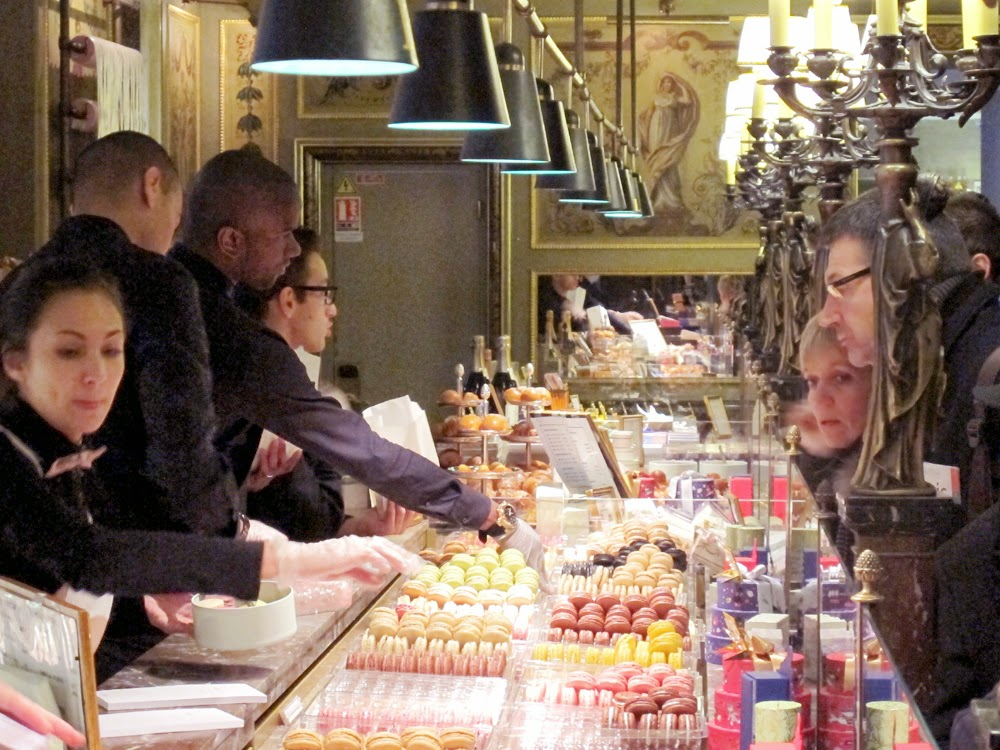 Laduree, Champs Elysee, Paris