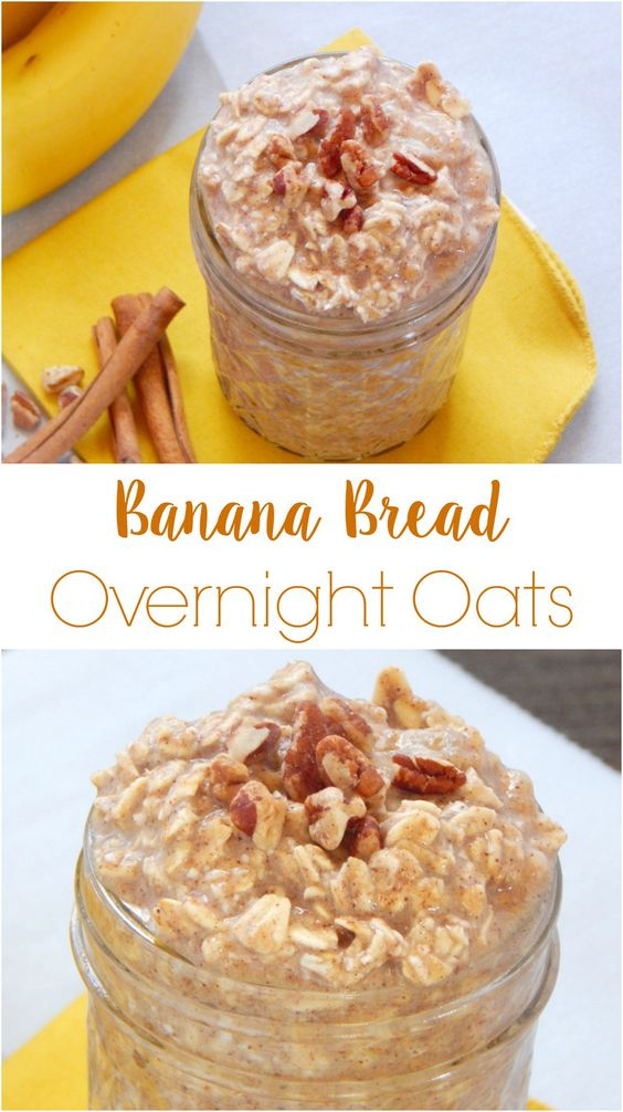 BANANA BREAD OVERNIGHT OATS