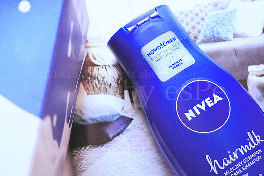 all I can do is write about it..: Nivea, seria Hairmilk do włosów normalnych