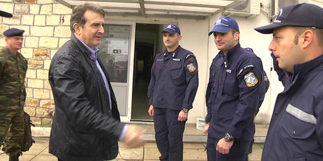 Στον Έβρο εκτάκτως ο υπουργός Προστασίας του Πολίτη Μιχάλης Χρυσοχοίδης