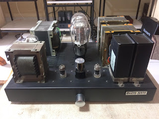 Audio Note Kit 1 SET 300B Tube Amp Sold AN%2Bfront