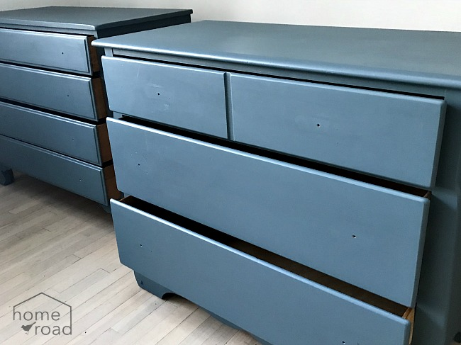 Mismatched Vintage Furniture Painted with Fusion Mineral Paint