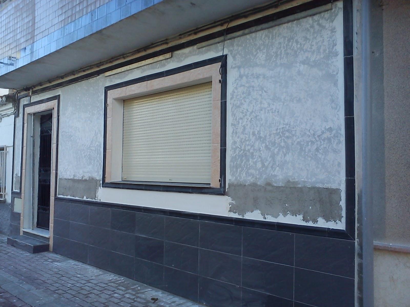 Reforma Casa En Dilar Fachada Y Zocalo 4 Fotos Dilar Granada - Zocalos-de-fachadas