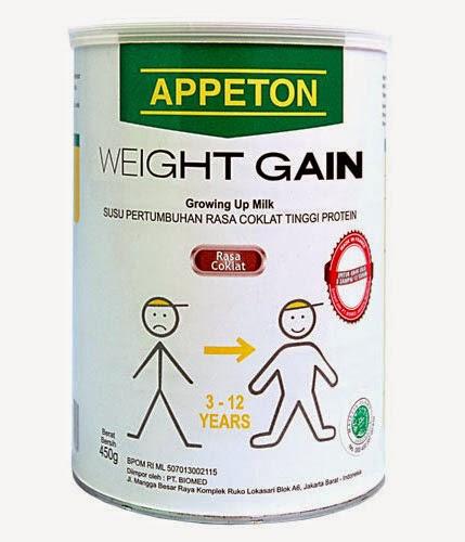 Harga Susu Appeton Weight Gain Terbaru 2017
