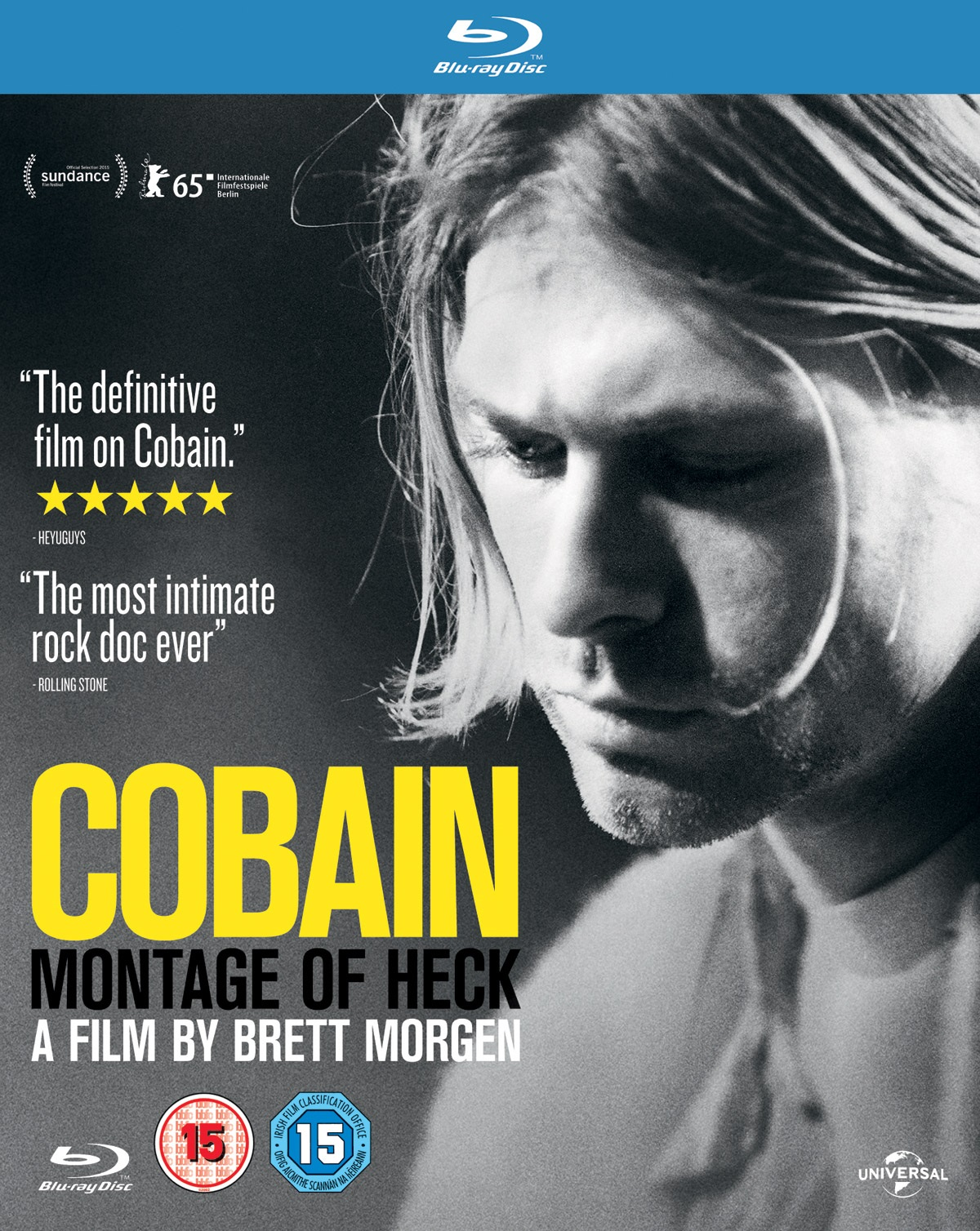Kurt Cobain Montage Of Heck (2015) 1080p BD25 Cover Caratula