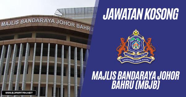 jawatan kosong Majlis Bandaraya Johor Bahru (MBJB) 2019