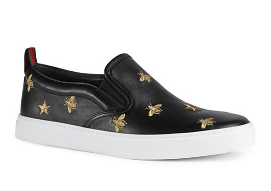 8924d514f Bee Luxe: Gucci Dublin Slip-On Sneaker | SHOEOGRAPHY