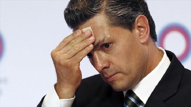 """""""¡Asesino!"""", así reciben al presidente Peña Nieto en Canadá"""