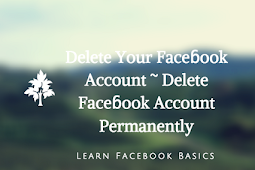 Delete Your Faceɓook Account ~ Delete Faceɓook Account Permanently