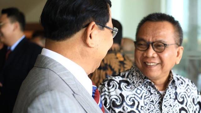 'Angin Surga' dari Prabowo untuk M Taufik