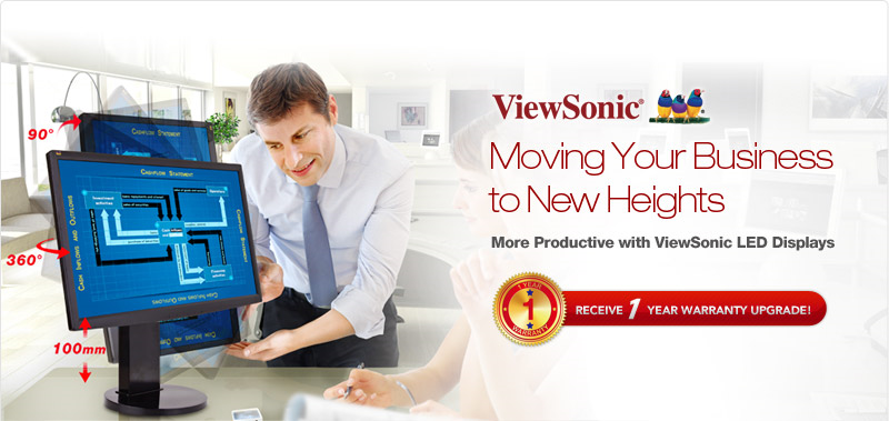 ViewSonic Limited Time Offer