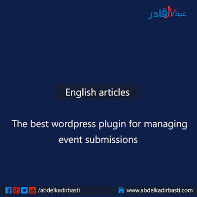 The best wordpress plugin for managing event submissions