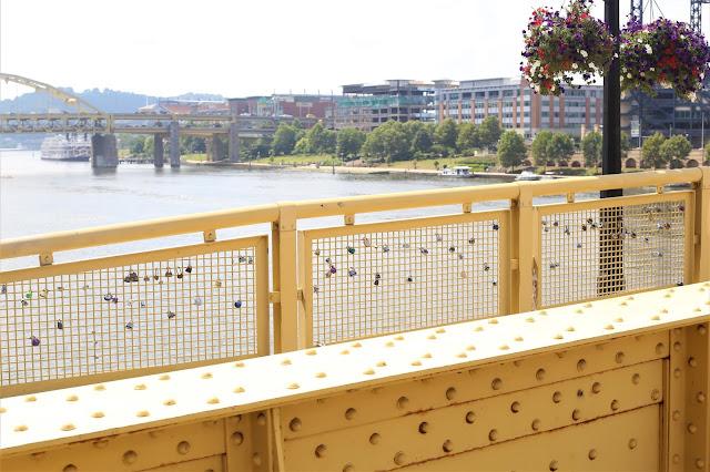 locks of love in Pittsburgh