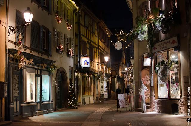 Colmar Alsacia Navidad
