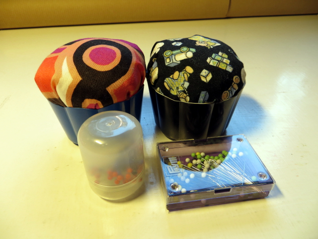 Cupcake pincushion neulatyyny