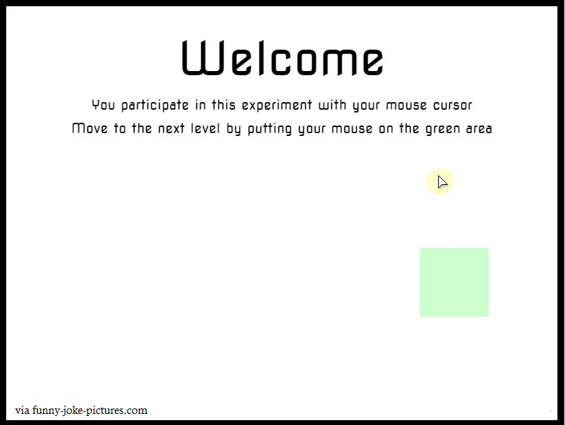 Funny Mouse Science Experiment Welcome picture