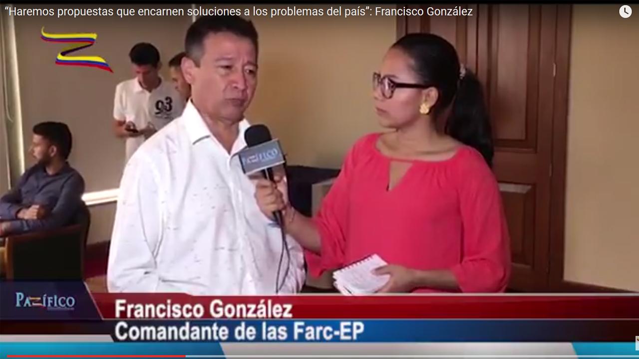 """""""Haremos propuestas que encarnen soluciones a los problemas del país"""": Francisco González"""