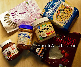 تجارب منتجات الأكل الصحي من اي هيرب