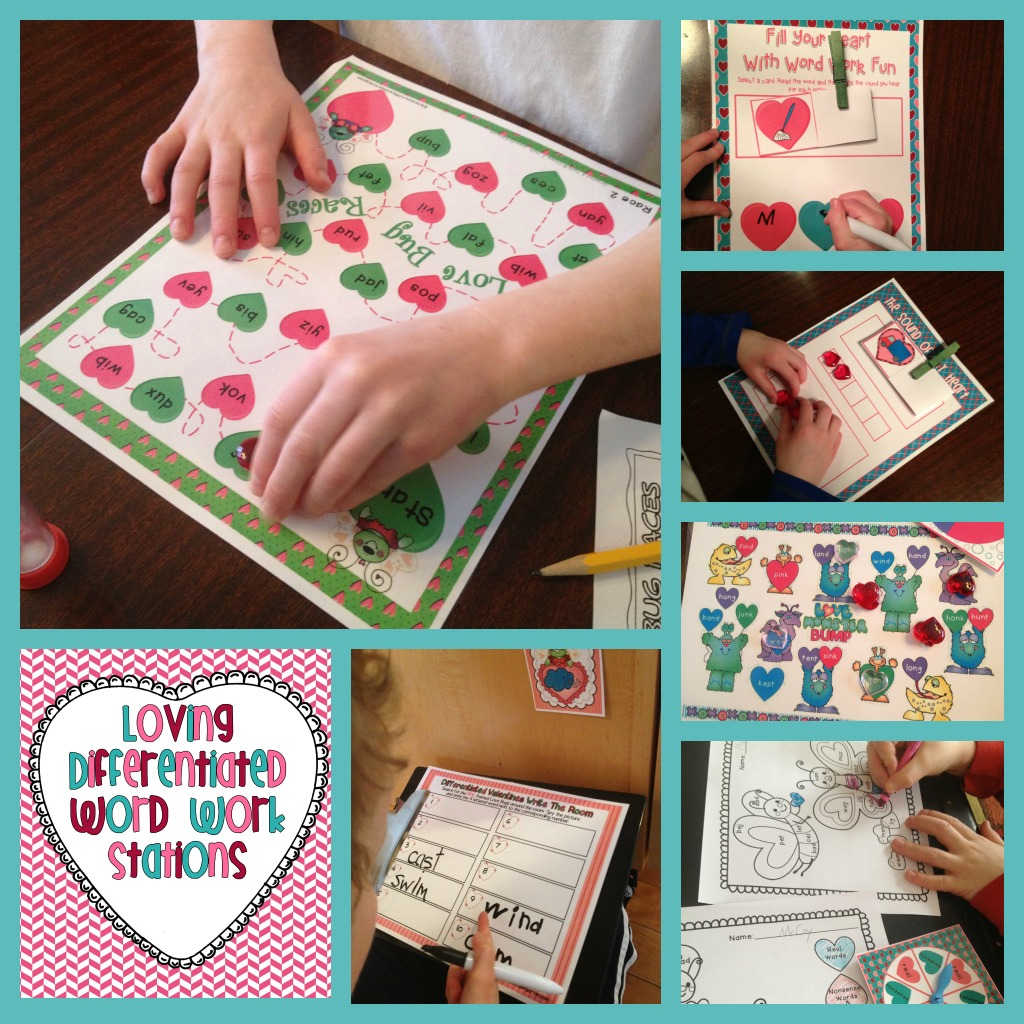 Planning On Valentine S Word Work Stations And A Big Big