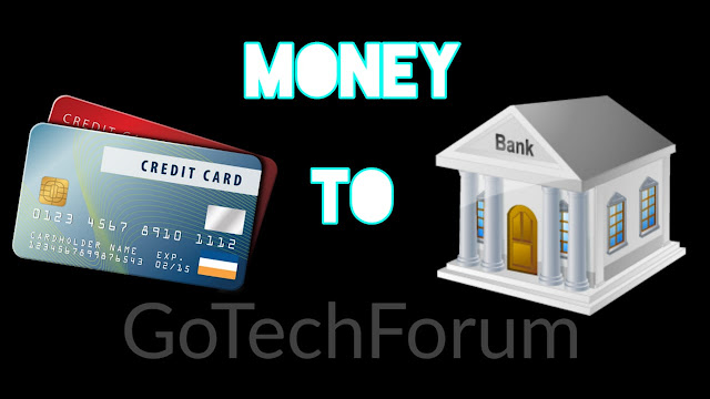 Best Way to Transfer Money From Credit Card to Bank Account/Saving Account (2018)