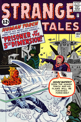 Strange Tales #103, the Human Torch and the Fifth Dimension