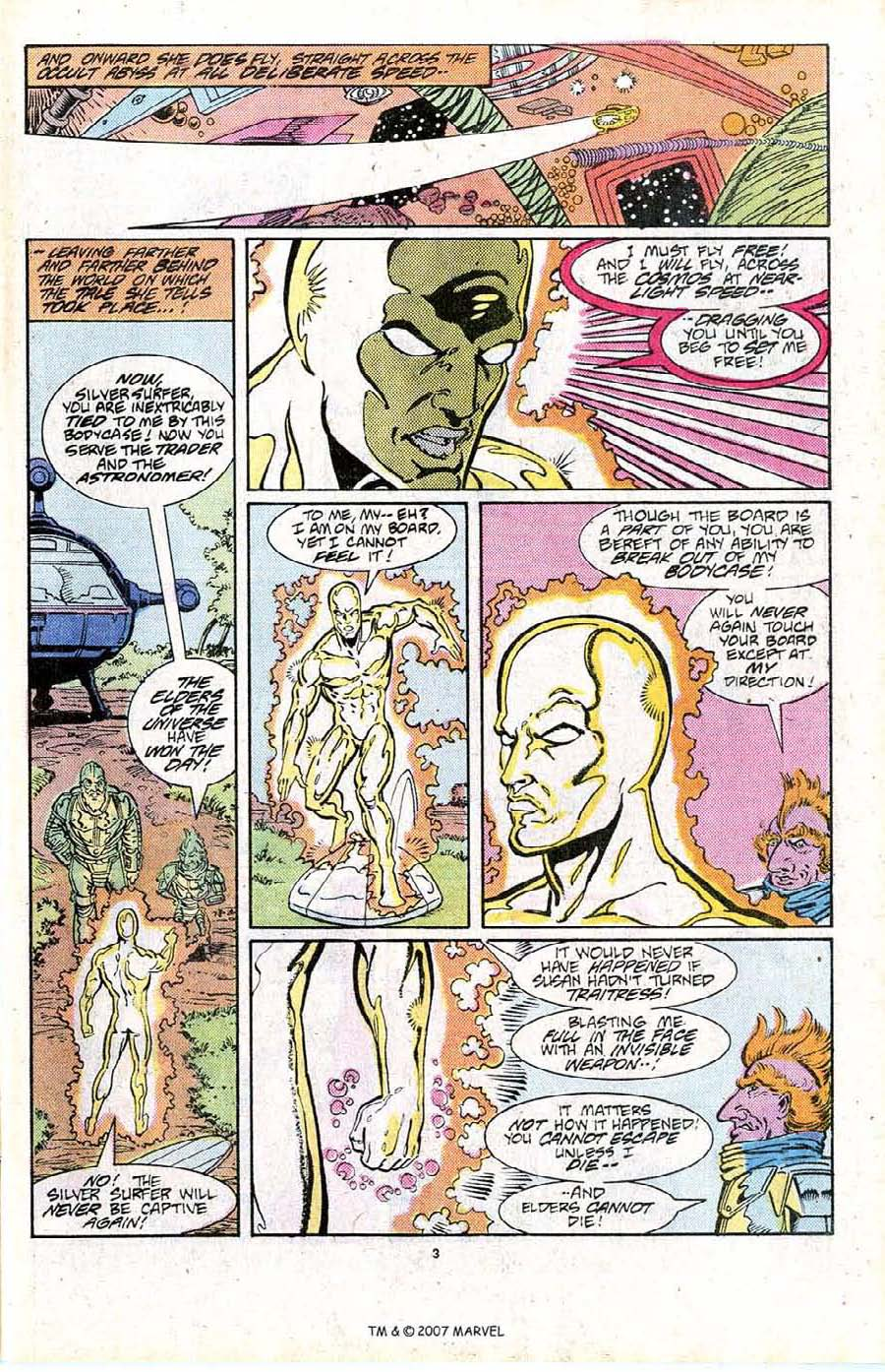 Read online Silver Surfer (1987) comic -  Issue #16 - 5