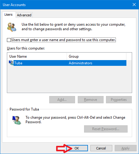How to Open netplwiz With Only One Click in Windows - www.ceofix.net