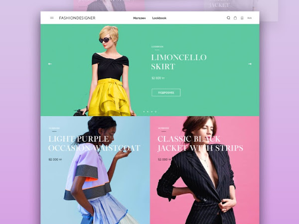 Download Fashion Shop PSD Template Free
