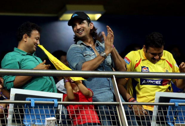 Sushant Singh Rajput attended Dhoni's matches