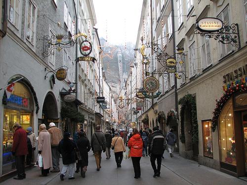 Salzburg Parken Zentrum