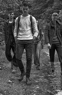 GQ Italia's Mountain Life with Filip Hrivnak, James Flury & Mason Frizelle