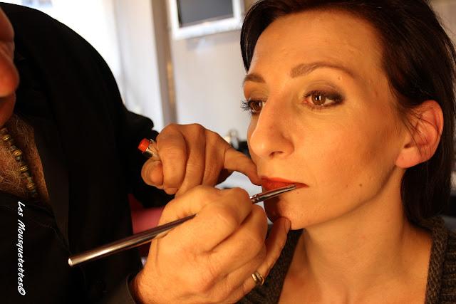 Céline maquillée par Georges Demichelis - La Loge Maquillage - Les Mousquetettes©