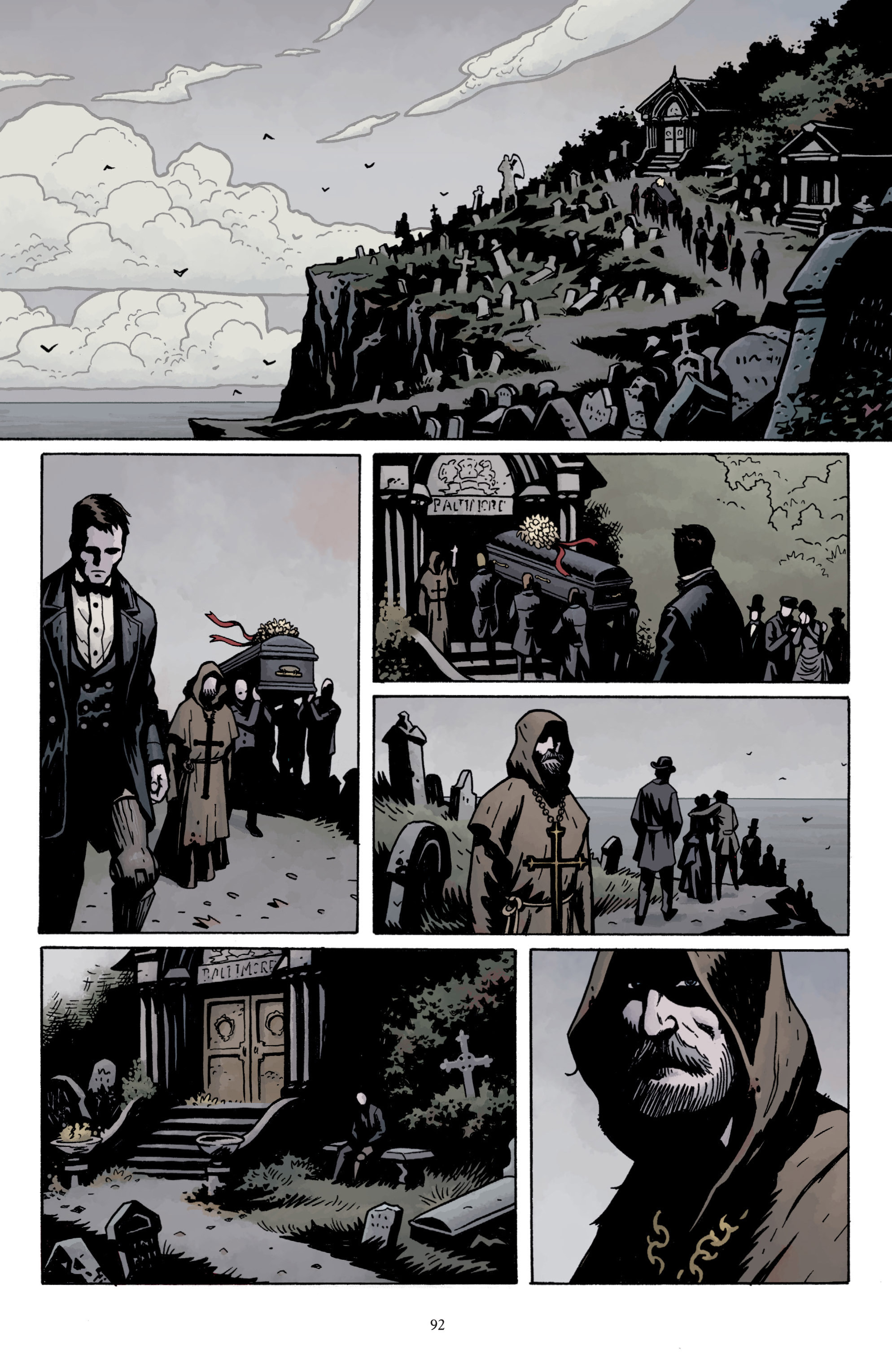 Read online Baltimore: The Plague Ships comic -  Issue # TPB - 92