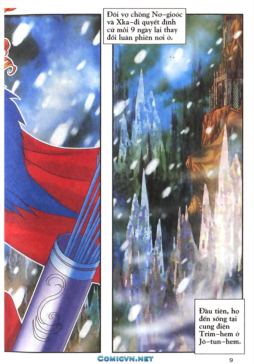 Thần thoại Bắc Âu - Chapter 18: Thần sấm sét - Pic 10