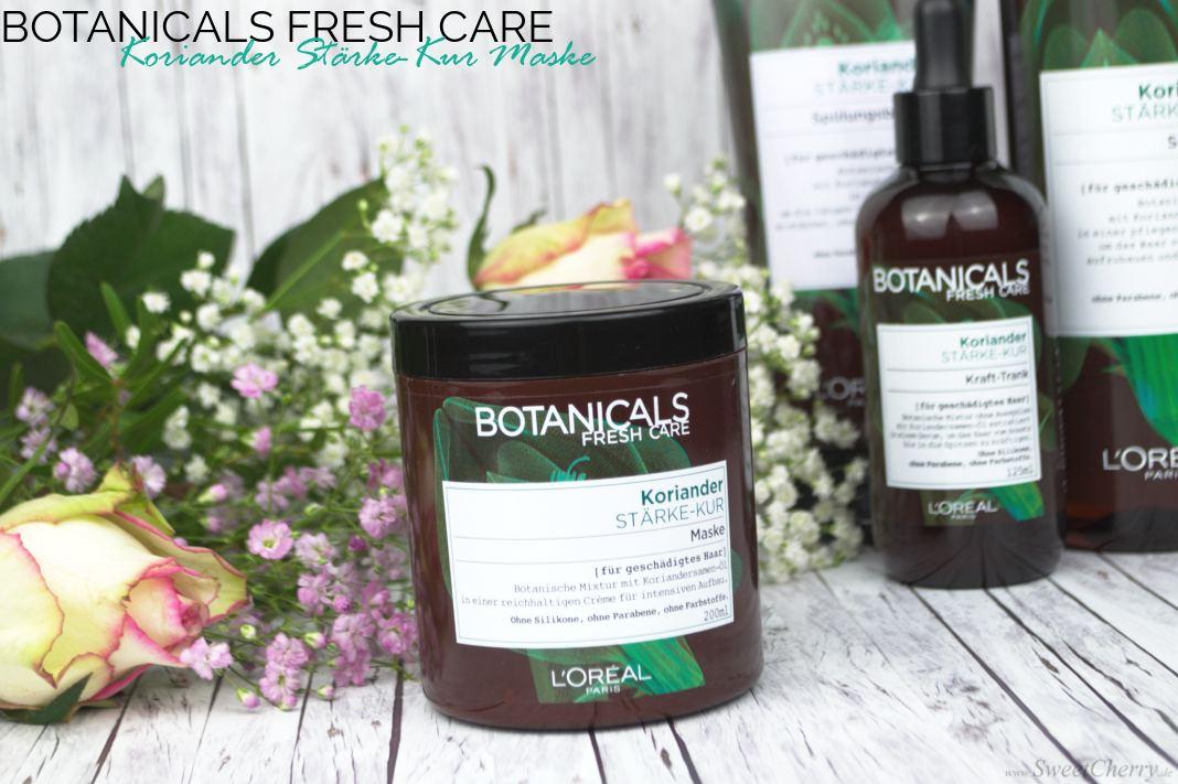 L'Oréal Paris Botanicals Fresh Care Koriander Stärke-Kur Make