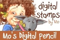 Mo's digital pencil digi stamps.