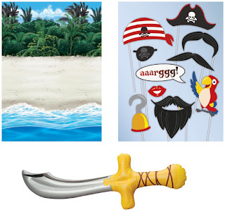 Boys Pirates Inflatable Prop Kit - Multi-colored