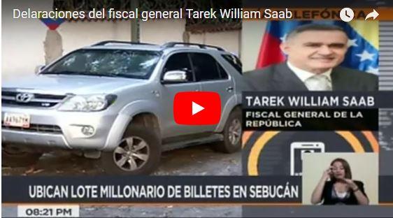 Sembraron 200 millones de bolívares en carro de familiar de Leopoldo López