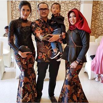 Gaun Seragam Pernikahan Untuk Keluarga Kecil